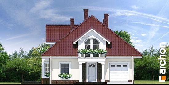 Elewacja frontowa projekt dom w tymianku ver 2  264