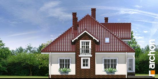 Elewacja ogrodowa projekt dom w tymianku ver 2  267