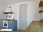 projekt Dom w tymianku Aranżacja kuchni 1 widok 2
