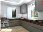 projekt Dom w tymianku Aranżacja kuchni 2 widok 1