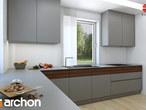 projekt Dom w tymianku Aranżacja kuchni 2 widok 2