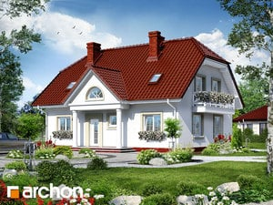 projekt Dom w gladiolach 2