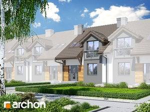 projekt Dom w ostróżkach