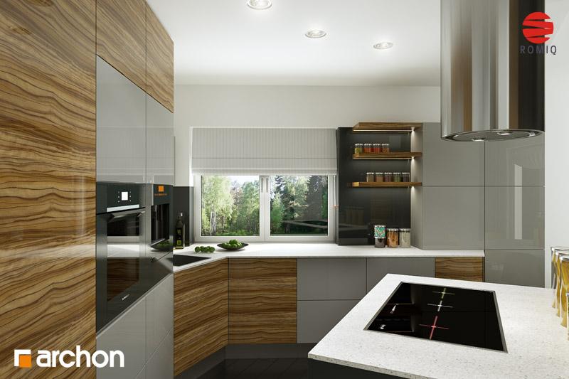 Projekt dom w wisteriach 2 p  25681