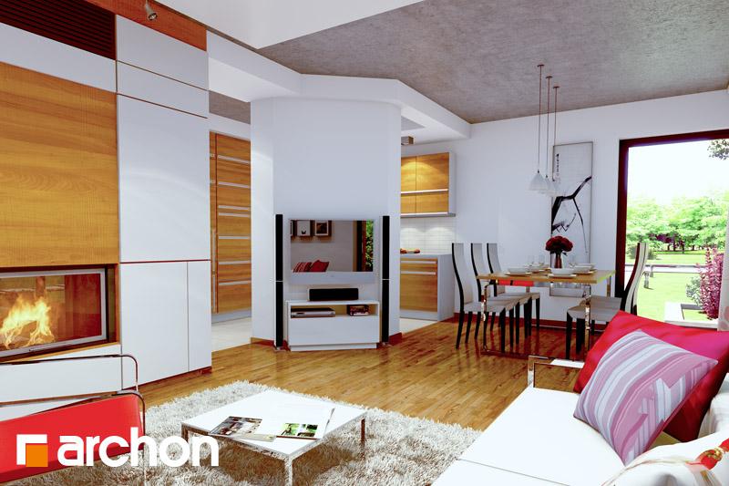 Projekt dom w wisteriach 2 p  25679