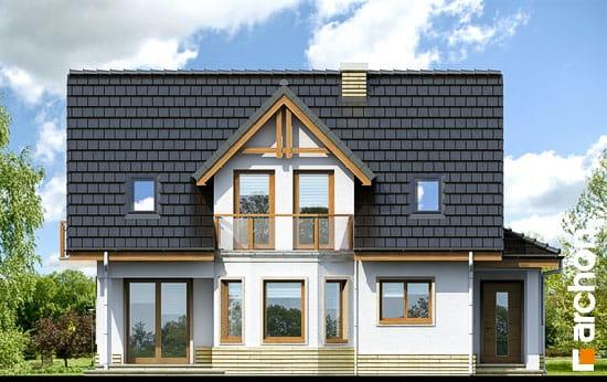 Elewacja frontowa projekt dom w zurawinie ver 2  264