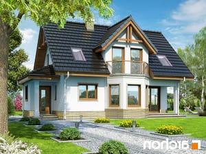 projekt Dom w żurawinie lustrzane odbicie 1