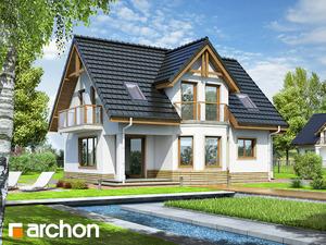 projekt Dom w żurawinie widok 2