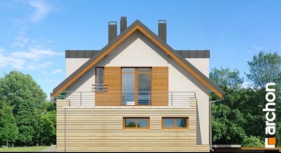 Elewacja boczna projekt dom w kardamonie ver 2  265