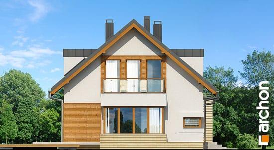 Elewacja boczna projekt dom w kardamonie ver 2  266