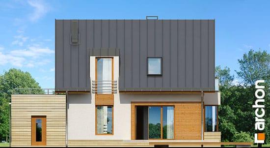 Elewacja ogrodowa projekt dom w kardamonie ver 2  267
