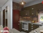 projekt Dom w kardamonie Aranżacja kuchni 1 widok 2