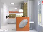 projekt Dom w kardamonie Aranżacja kuchni 2 widok 1