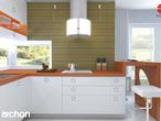 projekt Dom w kardamonie Aranżacja kuchni 2 widok 2