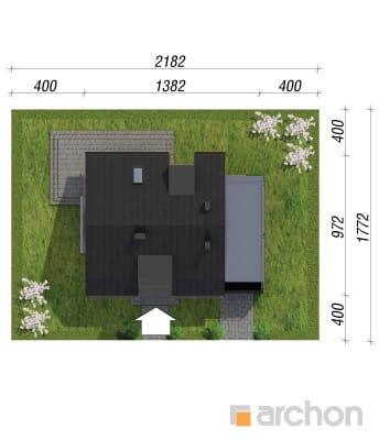 projekt Dom w kardamonie sytuacja