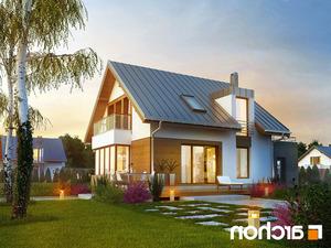 Projekt dom w kardamonie ver 2  260lo