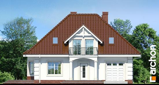Elewacja frontowa projekt dom w aksamitkach ver 2  264