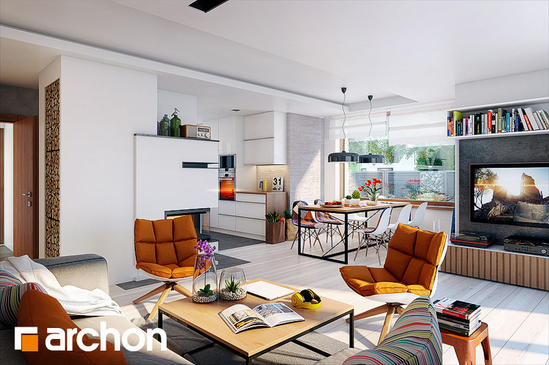 Projekt dom w filodendronach 3  22211