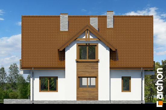 Elewacja ogrodowa projekt dom w asparagusach pn ver 2  267