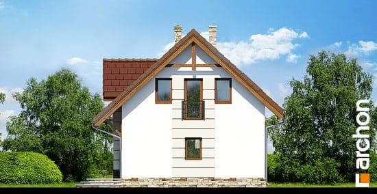 Elewacja boczna projekt dom w lukrecji 4 ver 2  265