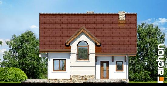 Elewacja frontowa projekt dom w lukrecji 4 ver 2  264