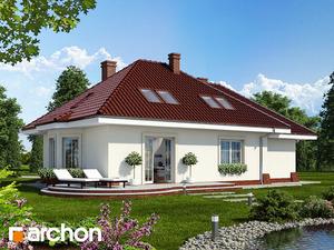 projekt Dom w lotosach (G) widok 2
