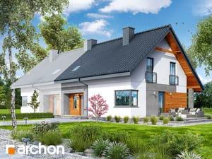 projekt Dom w malinówkach 2 (B)