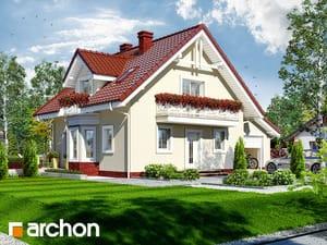 projekt Dom w rododendronach 4