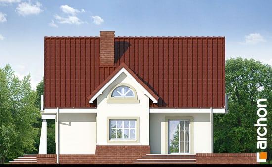 Elewacja boczna projekt dom w morelach ver 2  265