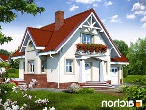 projekt Dom w morelach lustrzane odbicie 1