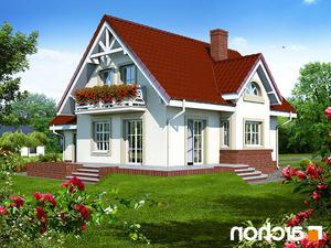 projekt Dom w morelach lustrzane odbicie 2