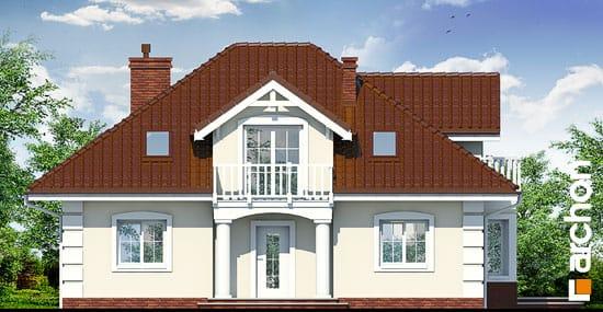 Elewacja frontowa projekt dom w jezowkach ver 2  264