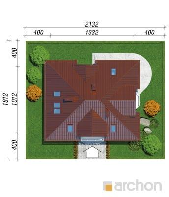 projekt Dom w jeżówkach sytuacja