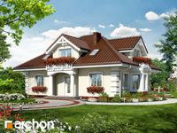 projekt Dom w jeżówkach widok 1