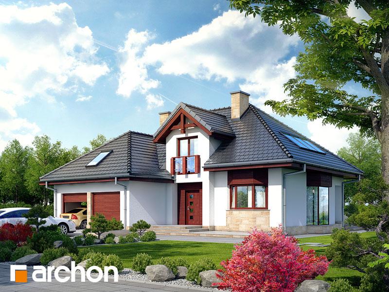Projekt: Dom w kalateach 2 ver.2 Wizualizacja widok 1