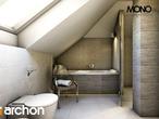 projekt Dom w kalateach 2 Wizualizacja łazienki (wizualizacja 1 widok 2)