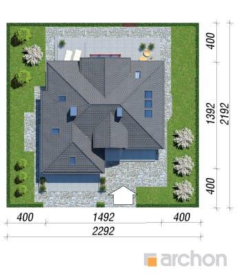 projekt Dom w kalateach 2 sytuacja