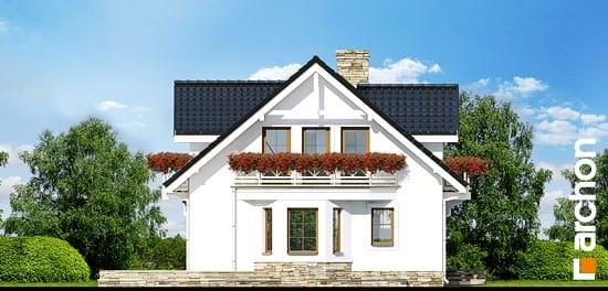 Elewacja boczna projekt dom w rododendronach 6 p ver 2  266