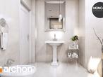 projekt Dom w rododendronach 6 (P) Wizualizacja łazienki (wizualizacja 3 widok 1)