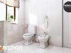 projekt Dom w rododendronach 6 (P) Wizualizacja łazienki (wizualizacja 3 widok 2)