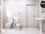projekt Dom w rododendronach 6 (P) Wizualizacja łazienki (wizualizacja 3 widok 3)