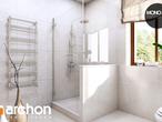projekt Dom w rododendronach 6 (P) Wizualizacja łazienki (wizualizacja 3 widok 4)