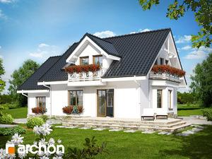 projekt Dom w rododendronach 6 (P) widok 2