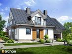 projekt Dom w rododendronach 6 (P) Stylizacja 3