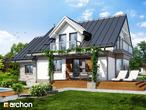 projekt Dom w rododendronach 6 (P) Stylizacja 4