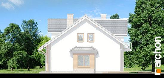 Elewacja boczna projekt dom w cyklamenach 2 ver 2  265