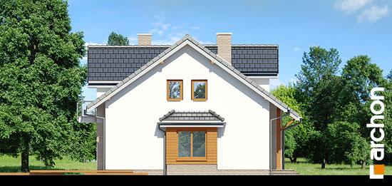 Elewacja boczna projekt dom w cyklamenach 2 ver 2  266