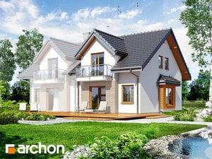 projekt Dom w cyklamenach 2 widok 2