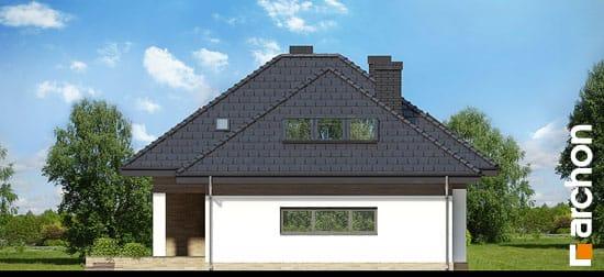 Elewacja boczna projekt dom w lilakach gpd ver 2  265