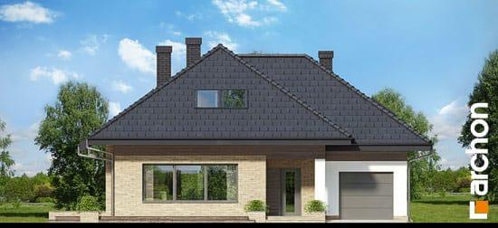 Elewacja frontowa projekt dom w lilakach gpd ver 2  264